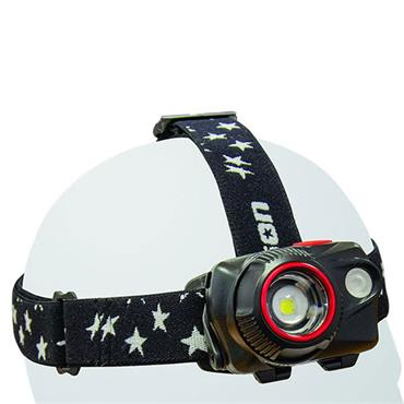 Jefferson 580lm Rechargeable Uni-Powered Cree LED Headlamp