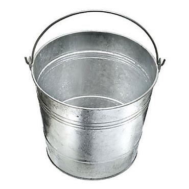 De Vielle 30cm Galvanised Bucket