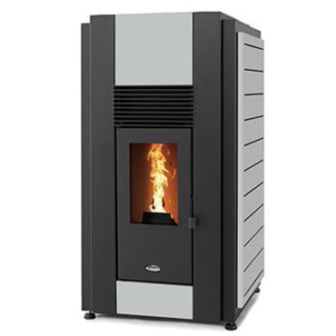 Waterford Stanley Solis K2300 23kw Boiler Pellet Stove  Grey
