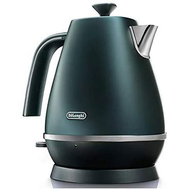 Delonghi Distinta Flair Kettle Matt Metallic Green