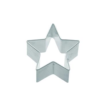 KitchenCraft 4cm Metal Cookie Cutter Small Star