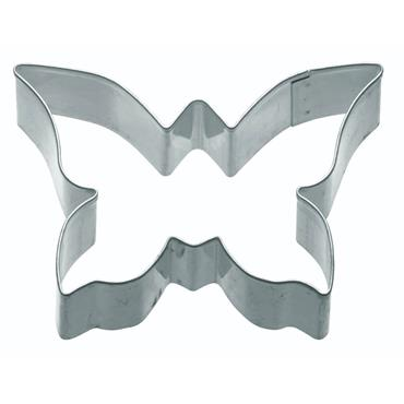 KitchenCraft 7.5cm Metal Cookie Cutter Medium Butterfly