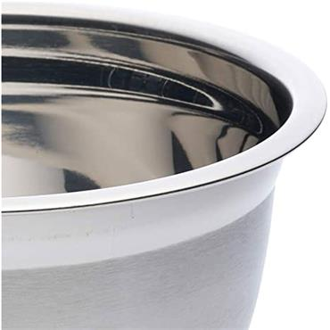 Deluxe Stainless Steel Bowl 22cm