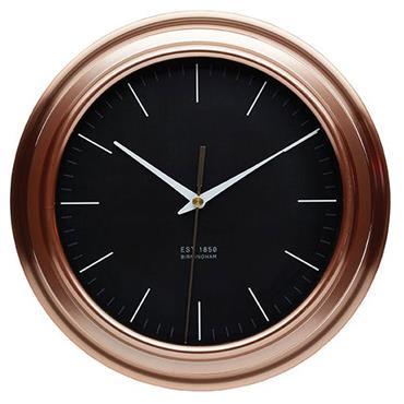 KitchenCraft Copper Effect Clock