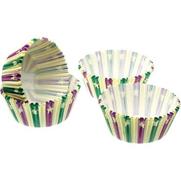 KitchenCraft 4.5cm Mini Paper Cake Cases Sweetly Does It Stars 80pk