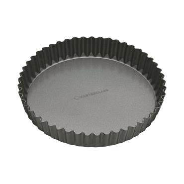 Non Stick Loose Base Fluted Quiche Tin 23cm
