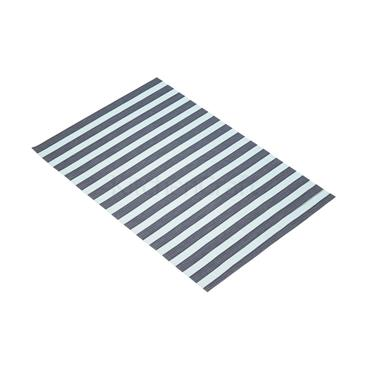 KitchenCraft Woven Placemat Turquoise Stripe