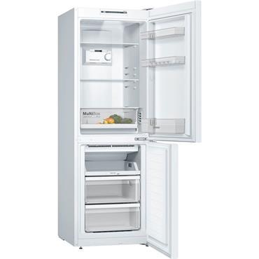 Bosch 60cm Frost Free White Fridge Freezer