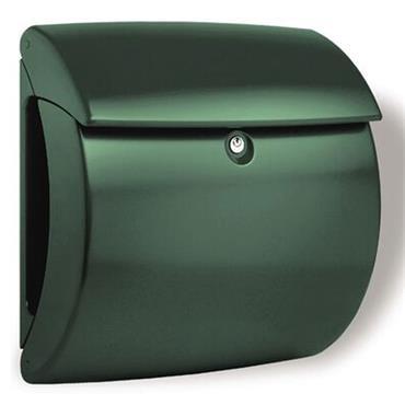Burg Wachter Post Box Kiel Green Polymer