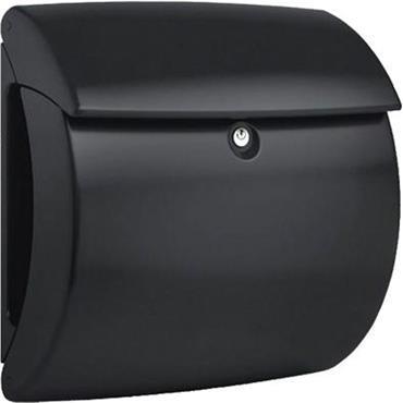 Burg Wachter Post Box Kiel Black Polymer
