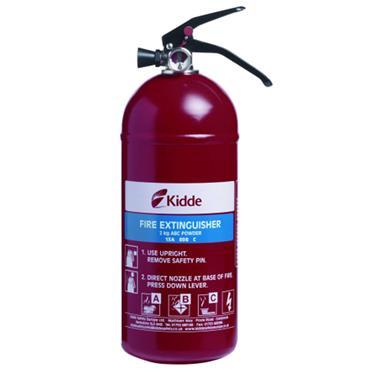 Kidde Multi Purpose Fire Extinguisher 2kg