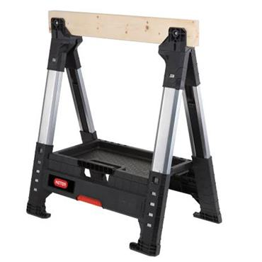 Lumberjack Adjustable Single Sawhorse