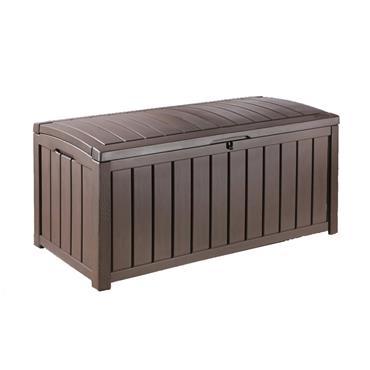 Keter Glenwood Garden Storage Box Brown