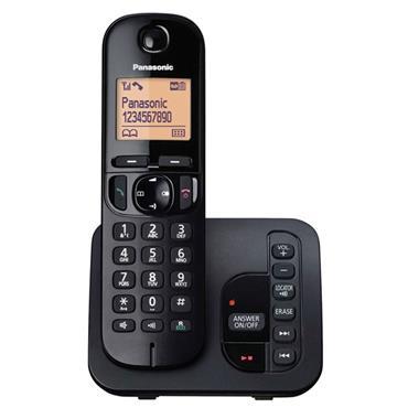 Panasonic Single Cordless Phone with Answering Machine