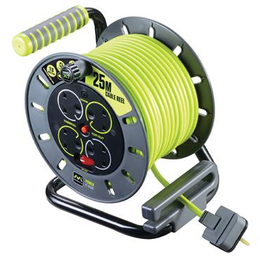 Masterplug ProXT 25m 4 Socket Cable Reel