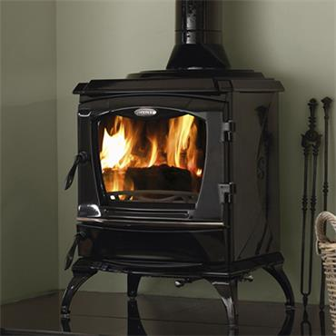 Waterford Stanley Lismore Eco  Stove Black Enamel