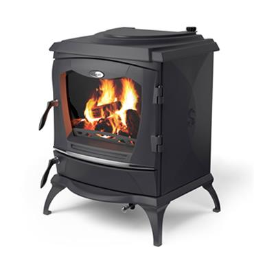 Waterford Stanley Lismore  Eco  Stove Matt Black