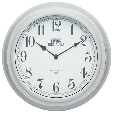 KitchenCraft Wall Clock Grey 25.5cm