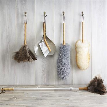 KitchenCraft Living Nostalgia Vintage-Style Microfibre Feather Duster