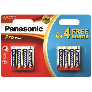 Panasonic Pro Power Batteries AA 8pk
