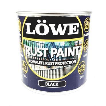 Lowe Rust Paint Black 250ml