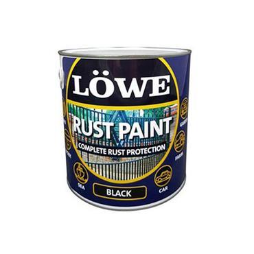 Lowe Rust Paint Black 2.5L