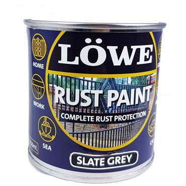 Lowe Rust Paint Slate Grey 250ml