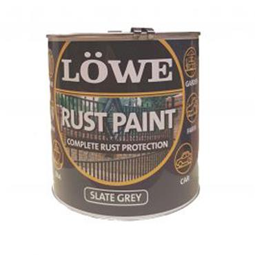 Lowe Slate Grey Rust Paint 1L