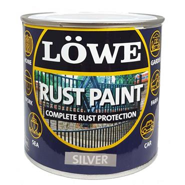 Lowe Silver Rust Paint 1L
