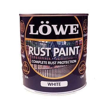 Lowe White Rust Paint 1L