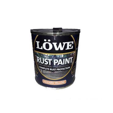 Lowe Rust Paint Hazard Yellow 250ml