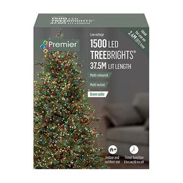 Multicoloured 1500 LED Treebrights