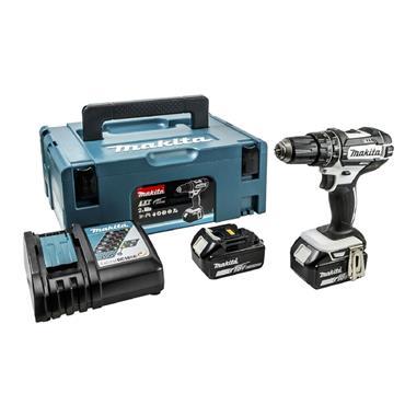 Makita 18v Combi Drill (2 x 5amp Batteries)