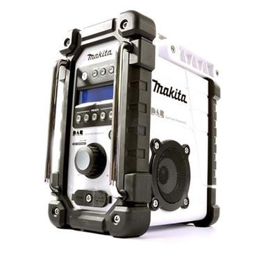Makita White Job Site Radio