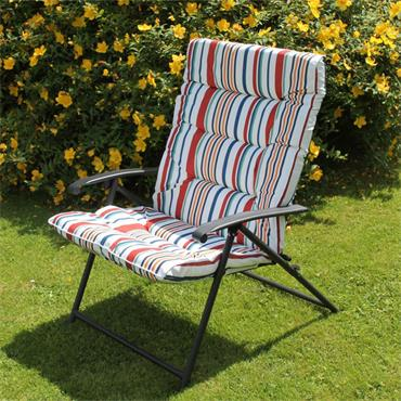 Marine Padded Folding Chair