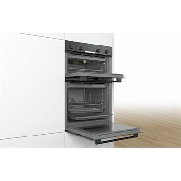 Bosch Double Oven LED Display 3D Hot-Air