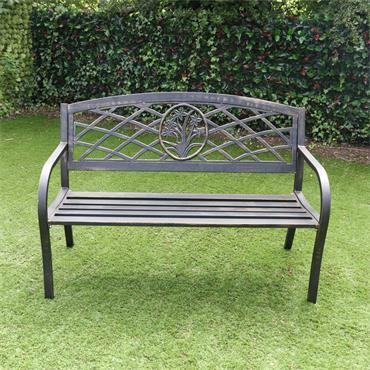 Daffodil Garden Steel Bench