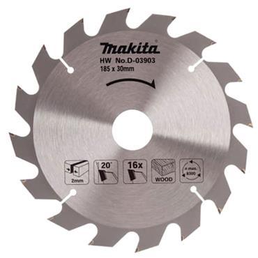 Makita D-03903 TCT Circular Saw Blade 185 x 30mm x 16T