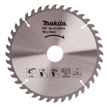 Makita D-03919 TCT Circular Saw Blade 185 x 30mm x 40T