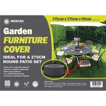 Premium Round Garden Furniture Cover 2.75m