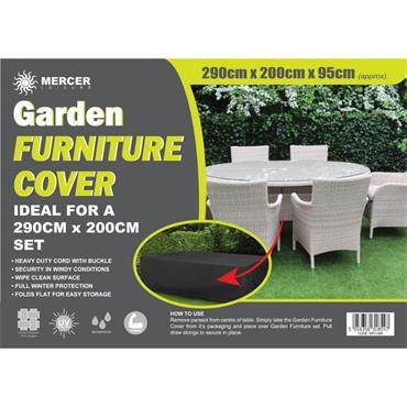 Premium Rectangular Garden Furniture Cover 2.9 x 2m