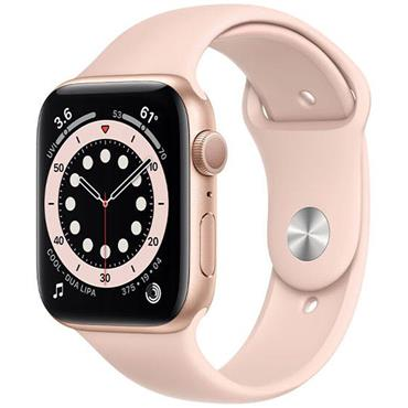 Apple Watch Series 6 40mm Gold Case / Pink Band