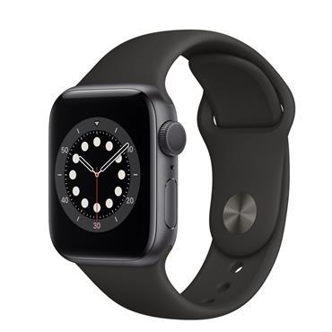 Apple Watch Series 6 40mm Grey / Black Band