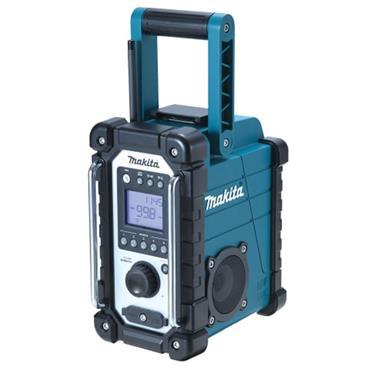 Makita Job Site Radio Blue 240V & Li-ion Bare Unit