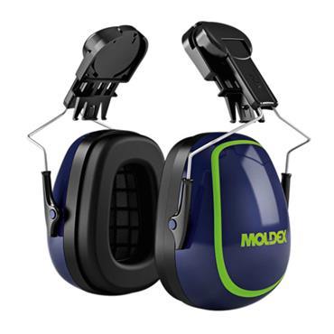 Moldex MX-7 30mm Euro Slot Helmet Mounted Earmuffs SNR 31 dB