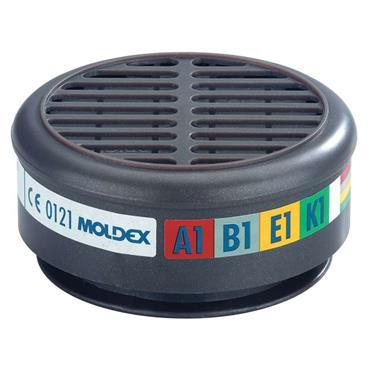 Moldex ABEK1 Gas Filter For 8000 Half Mask 2pk