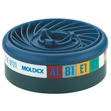 Moldex EasyLock ABEK1 Gas Filter Cartridge 2pk