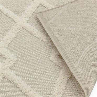 Asiatic Monty 120 X 170 Mn07 Beige Cream Diamond Outdoor Rug