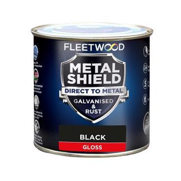 Fleetwood Metalshield Gloss Black 1L
