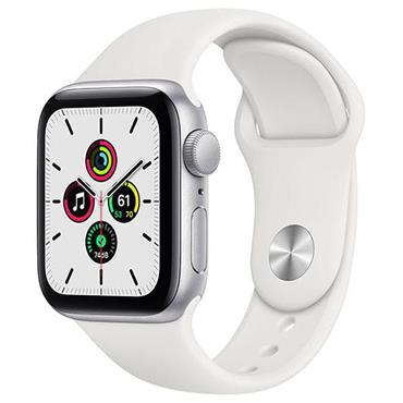 Apple Watch Se 40mm Silver Case / White Band